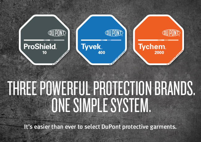 Three powerful protection brands. One simple system