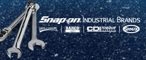 Snap-On Industrial including Williams, BAHCO, and CDI Torque.