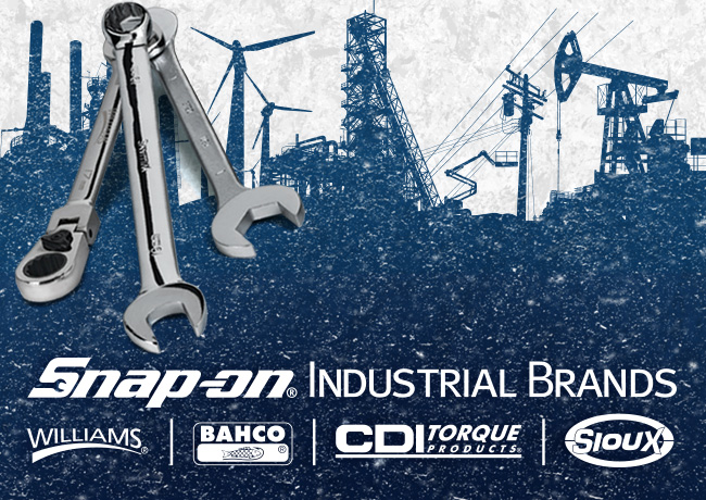Snap-On Industrial including Williams, BAHCO, and CDI Torque